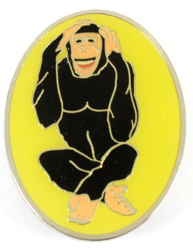 Chimp Metal Magnet