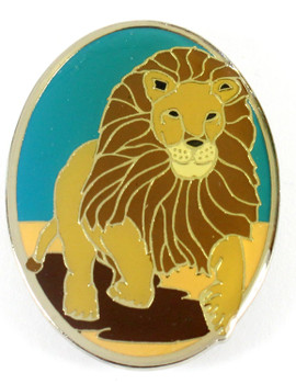 Lion Metal Magnet