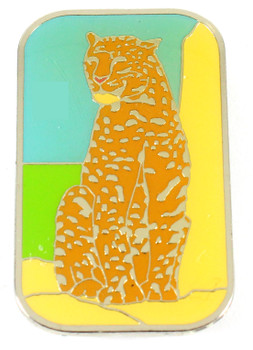 Cheetah Metal Magnet