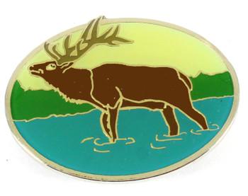 Elk Metal Magnet