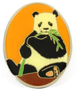 Panda Bear Metal Magnet