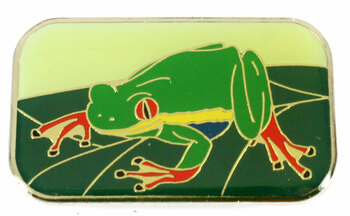 Frog Metal Magnet