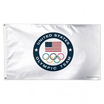 2020 Tokyo Olympics Team USA Olympic Team Logo Flag - 3'x5'
