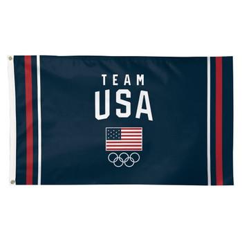 2020 Tokyo Olympics Team USA Logo Flag - 3'x5'