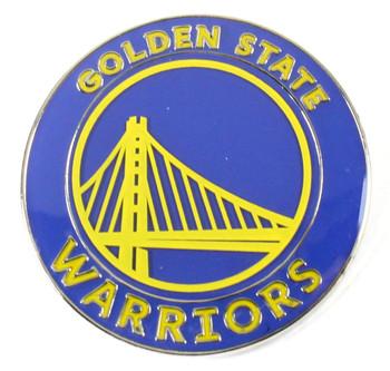 Golden State Warriors Logo Pin - Blue