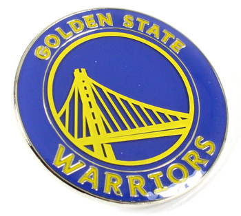 Golden State Warriors Logo Pin - Blue
