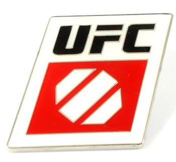 UFC Octagon Square Logo Pin