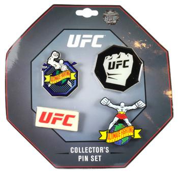 UFC Four Collector Pin Set