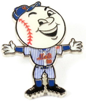 New York Mets Mr. Met Mascot Pin