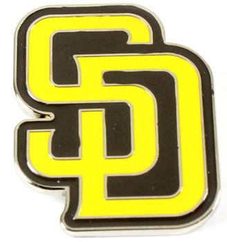 San Diego Padres Logo Pin - Gold