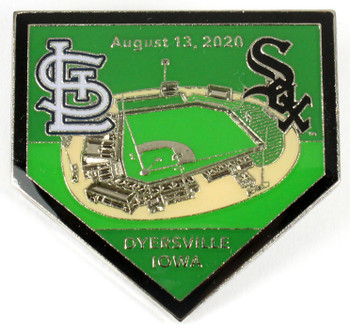 "2020 ""Field of Dreams"" Game Pin - Cardinals vs. White Sox - Limited 2,020"