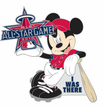 "2010 MLB All-Star Game / Disney's Mickey Mouse ""I Was There"" Pin"