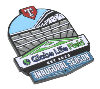 Globe Life Field 2020 Inaugural Season Pin - Limited 500