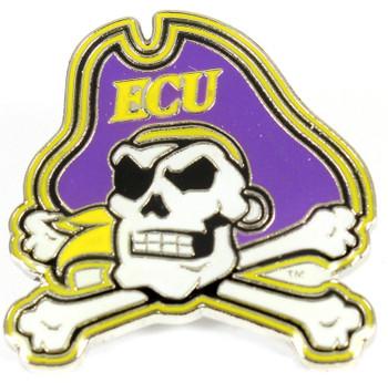 East Carolina University Logo Pin
