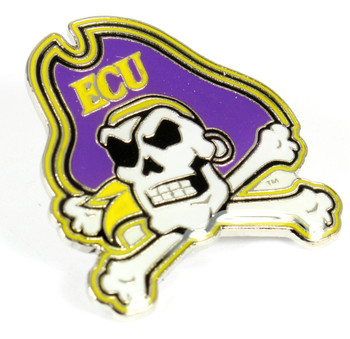 East Carolina University Logo Pin