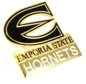 Emporia State Logo Pin