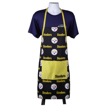 Pittsburgh Steelers Logo Rush Chefs Apron