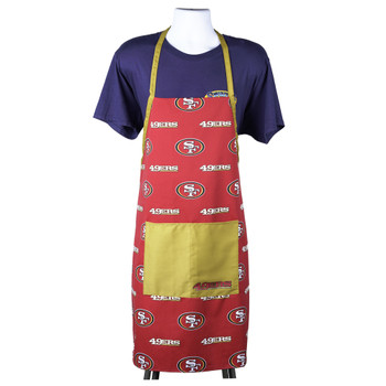 San Francisco 49ers Logo Rush Chefs Apron