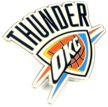 """Oklahoma Thunder GRANDE Logo Pin - 2"""""""