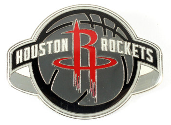 Houston Rockets GRANDE Logo Pin - 2""