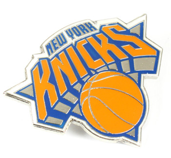 New York Knicks GRANDE Logo Pin - 2""