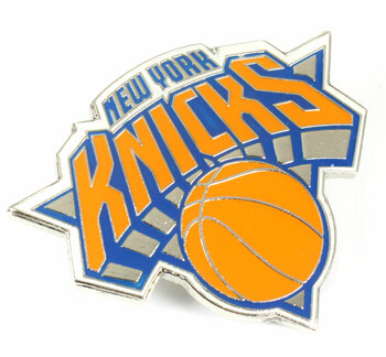"New York Knicks GRANDE Logo Pin - 2"""