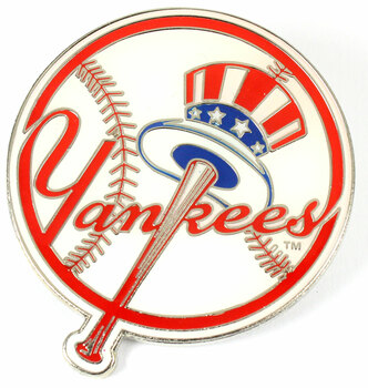 New York Yankees GRANDE Logo Pin - 2""