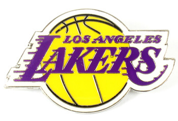 Los Angeles Lakers GRANDE Logo Pin - 2""