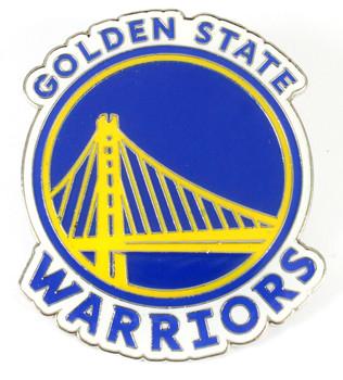 "Golden State Warriors GRANDE Logo Pin - 2"""