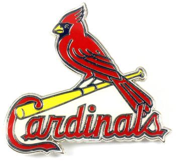 "St. Louis Cardinals GRANDE Logo Pin - 2"""