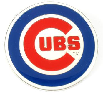 """Chicago Cubs GRANDE Logo Pin - 2"""""""