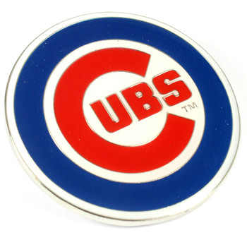 Chicago Cubs GRANDE Logo Pin - 2""