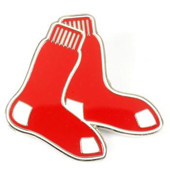 "Boston Red Sox GRANDE Logo Pin - 2"""