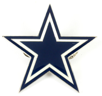 Dallas Cowboys GRANDE Logo Pin - 2""