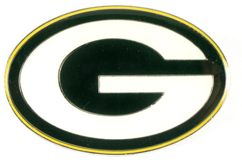 "Green Bay Packers GRANDE Logo Pin - 2"""