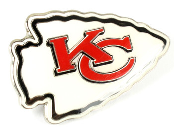 Kansas City Chiefs GRANDE Logo Pin - 2""