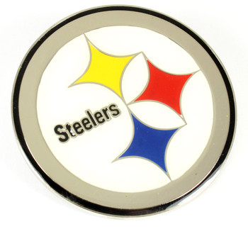 Pittsburgh Steelers GRANDE Logo Pin - 2""