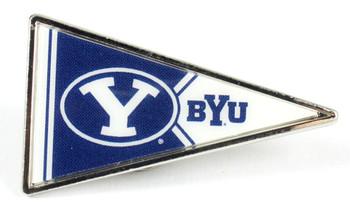 BYU Cougars Pennant Pin