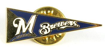 Milwaukee Brewers Pennant Pin.