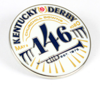 2020 Kentucky Derby 146 Logo Pin - May 2, 2020
