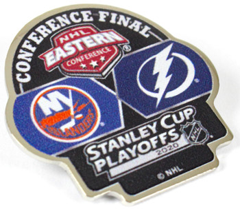 2020 NHL Eastern Conference Dueling Pin - Islanders vs. Lightning