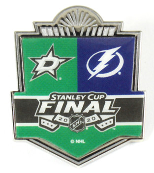 2020 NHL Stanley Cup Head To Head Pin - Stars vs. Lightning