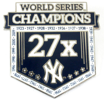 New York Yankees 27-Time World Series Champions Pin - Limited 1,000
