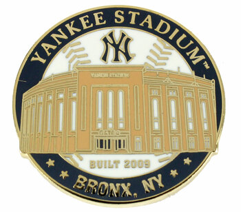 Yankee Stadium Built In 2009 Pin - Limited 1,000