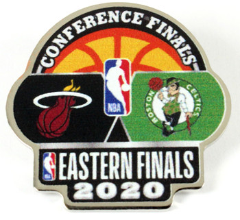 NBA 2020 Eastern Conference Finals Dueling Pin - Heat vs. Celtics