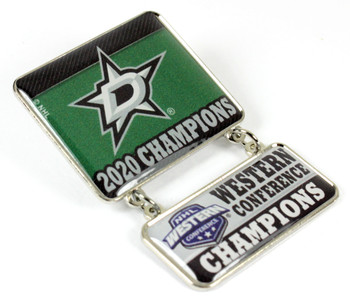 Dallas Stars 2020 Western Conference Champs Dangle Pin