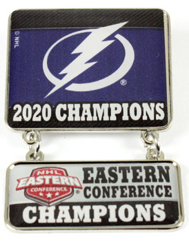 Tampa Bay Lightning 2020 Eastern Conference Champs Dangle Pin