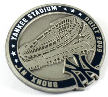 Yankee Stadium Pin - Bronx, NY / Built 2009  - Limited 1,000 (Silver Version)
