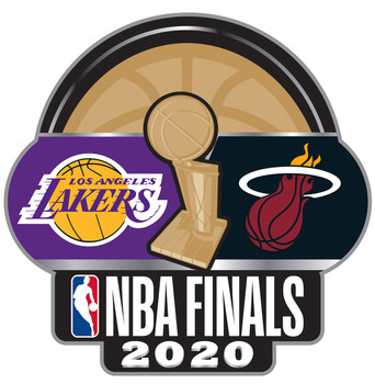 2020 NBA Finals Dueling Pin - Lakers vs. Heat