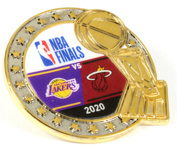 2020 NBA Finals Head To Head Pin - Lakers vs. Heat
